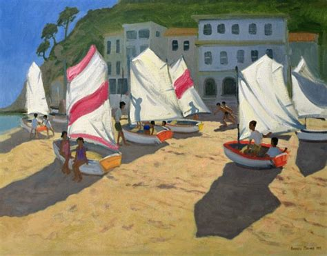 sailboats voucher code sailboats costa brava 1999 oil on can andrew macara