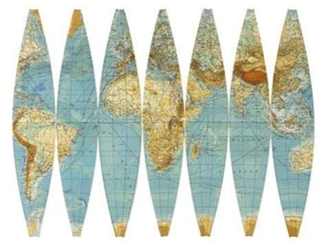 Printable World Map In Sections | justglobes making a globe why paper is best