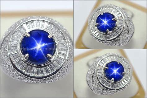 Blue Safir Sapphire Birma no heat royal blue safir burma sps 284