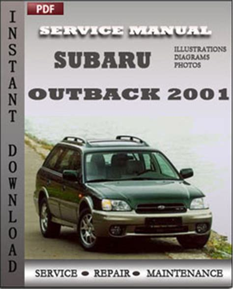 2001 subaru legacy and outback repair shop manual set original subaru outback 2001 service manual download repair service manual pdf