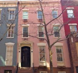 New York House Pretty In Pink Houses All Over New York City Ephemeral