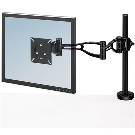 desk depth for 24 monitor fellowes 174 professional series depth adjustable monitor arm