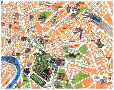 rome italy map maps of rome detailed map of rome in maps of rome italy tourist map of rome