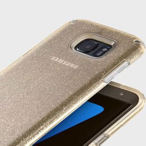 Glitter Samsung Galaxy S7 Edge Gold speck candyshell samsung galaxy s7 edge clear gold glitter