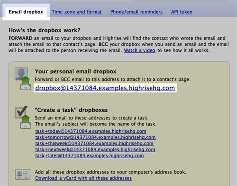 dropbox customer service highrise what is a highrise dropbox address where can i