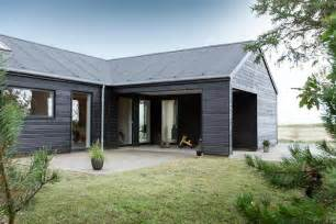 L Shaped Garage Plans Incredible Danish Wooden House Promoting Industrial Beauty