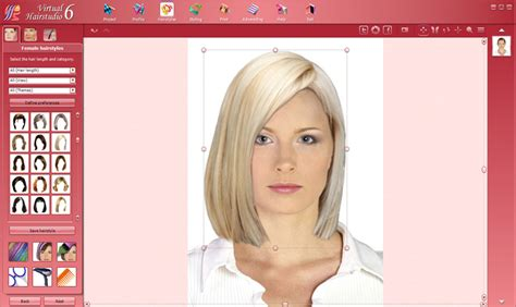 Virtual Hairstyles Design Studio | virtual hairstudio excellent assistant in creation of