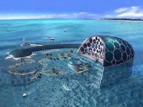 world beautifull places dubai hotel underwater hydropolis