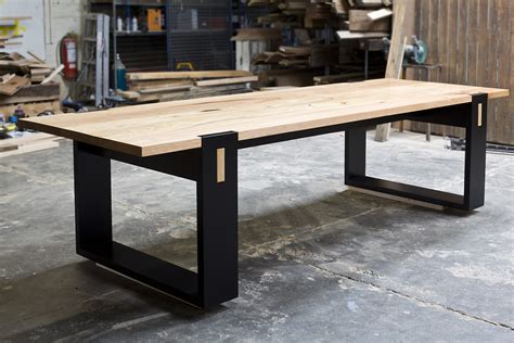 Handcrafted Furniture Melbourne - the strathewen custom made dining tables melbourne