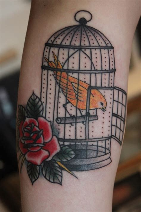 bird cage tattoos 82 bird tattoos design ideas mens craze