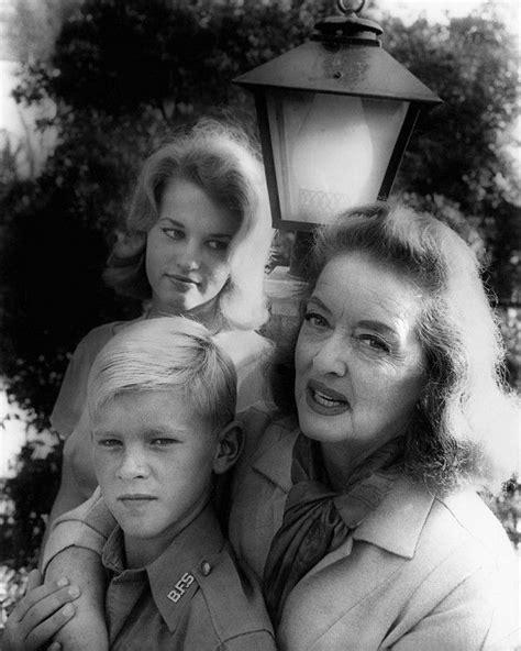 betty davis daughter bette davis and her children daughter barbara davis hyman