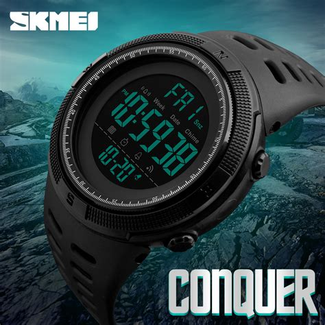 Skmei Dobel Time 1 aliexpress buy skmei brand s fashion sport watches chrono countdown waterproof
