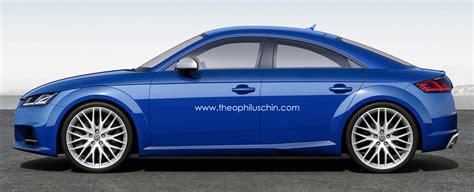 Audi Tt 4 Door by The Audi Tt 4 Door Coupe Makes Sense Autoevolution