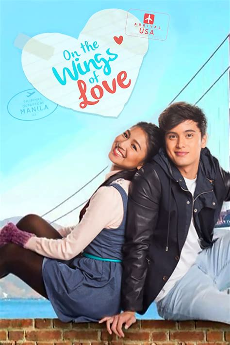 on the wings of love philippine film on the wings of love tv series 2015 posters the