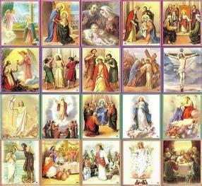 maria standard rosary