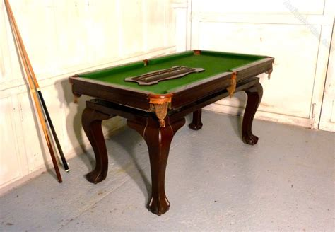 Snooker Dining Tables Mahogany Dining Billiard And Snooker Table Antiques Atlas