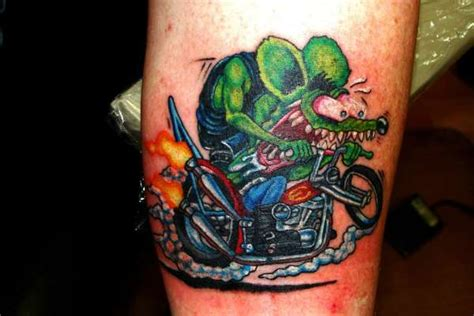 rat fink tattoos rat fink