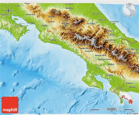 5 themes of geography costa rica pin costa rica geography map on pinterest