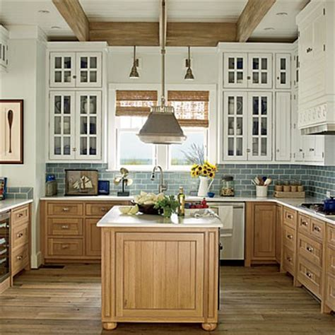 help me lighten up home decorating design forum two toned kitchen cabinets love this it can really