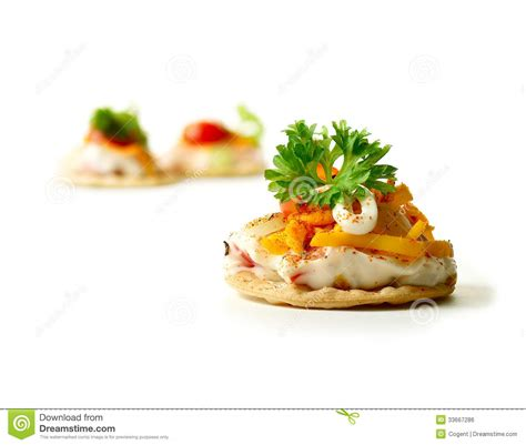 canape stock fresh canape 2 royalty free stock image image 33667286