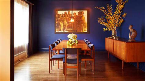 orange and blue room how to get a blue and orange dining room home design lover