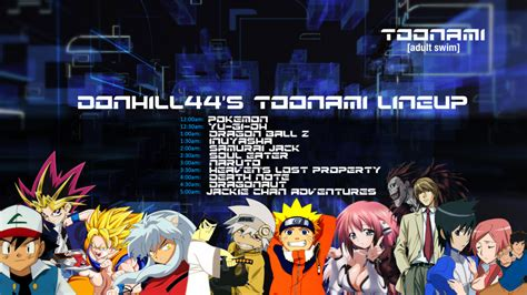 Toonami Network Shows In