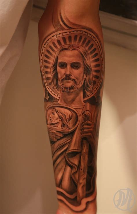 san judas tadeo tattoos prevail