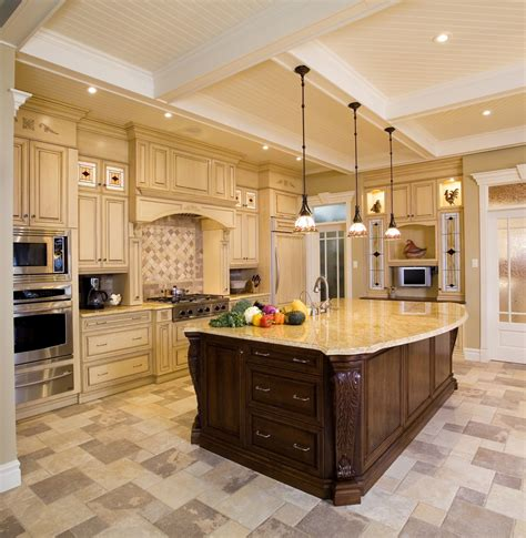 furniture interior decor for luxury and traditional kitchen uses beautiful island kitchen