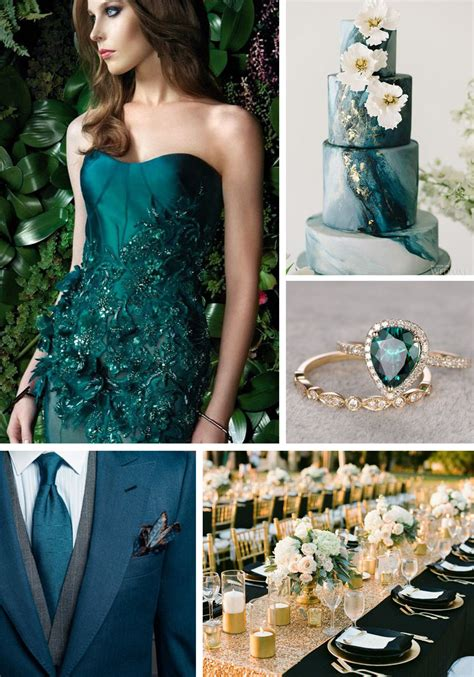 teal wedding colors toned wedding colors strictly weddings