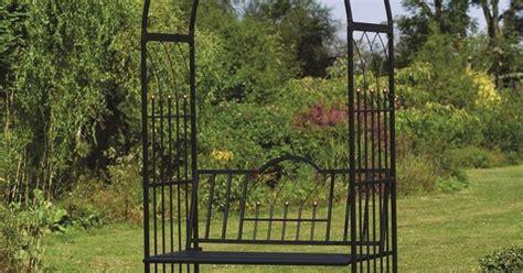 Buy Garden Arch Australia Gardman Westminster Garden Arch With Seat Bunnings