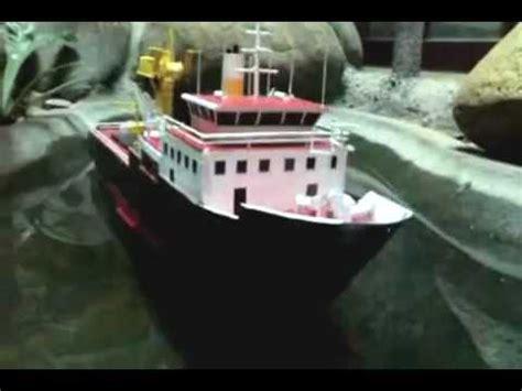 moana boat 3d model floating cardboard model ship youtube