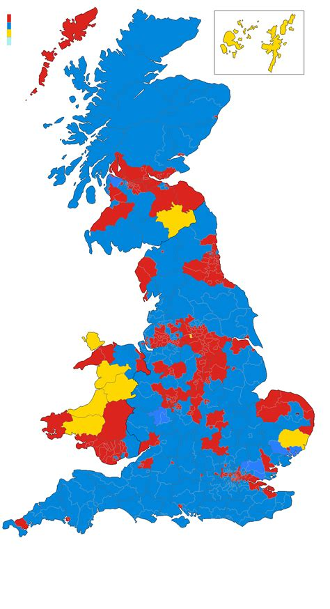 map uk election results united kingdom map vote