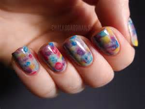 water color nails watercolor nails chalkboard nails nail
