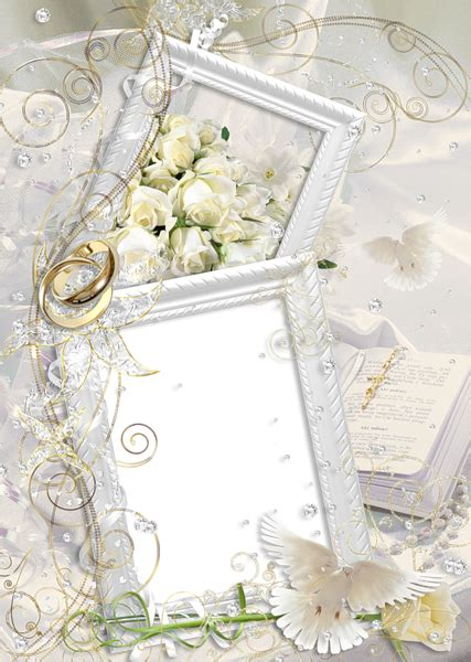 transparent delicate nice wedding frame gallery yopriceville high quality images