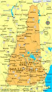 Nh State Map new hampshire state maps