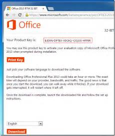 microsoft office 2013 how to get microsoft office 2013 trial product key from