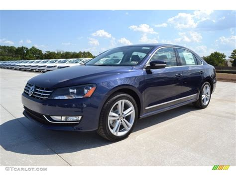 blue volkswagen passat 2013 night blue metallic volkswagen passat v6 sel
