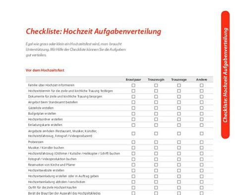 hochzeitstag to do liste checkliste hochzeit download freeware de