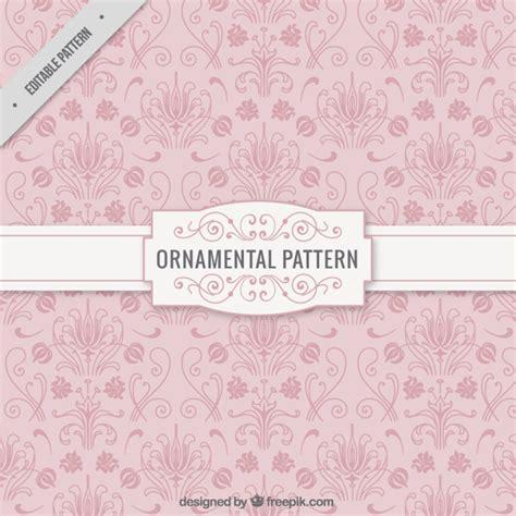 pink pattern vector free download ornamental pink pattern vector free download