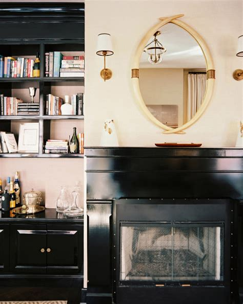 Bookshelves Next To Fireplace by Bookcases Beside Fireplace Images