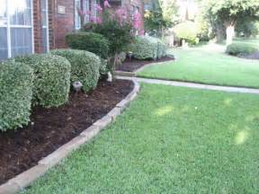 edging landscape outdoor spaces