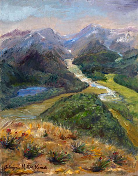 Landscape Paintings New Zealand Landscape Painting Original On Canvas Landscapes For Sale