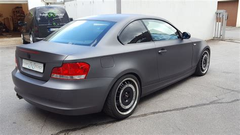 Bmw 1er Coupe Matt Schwarz by Bmw