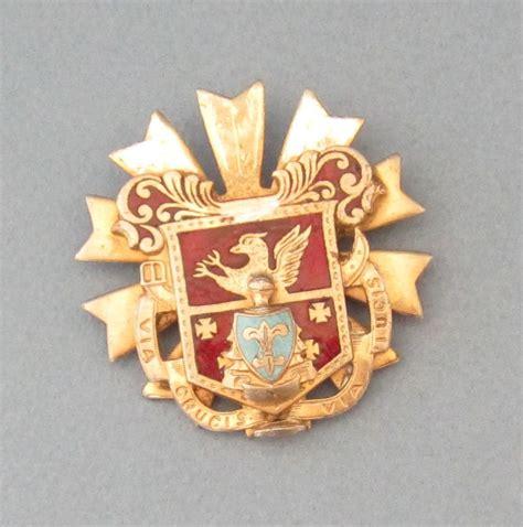 lys vintage vintage beautiful enameled and fleur die lys shield