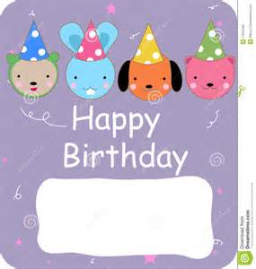 birthday card royalty free stock image image 11615166