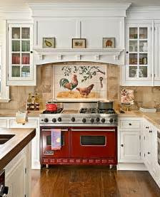 superb French Country Kitchen Decor #1: french-country-kitchen-looks-nice-but-for-me-the-red-stove-would-just-add-to-my-cooking-fires.-i-sharp39-d-have-a-blue-water-color-teapot-and-towel-and-backsplash..jpg