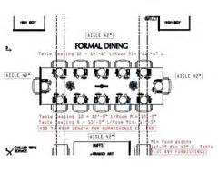Dining Table Dimensions To Seat 12 Dining Table Size Guid