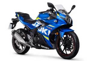 Suzuki Bike With Price Suzuki Gsx250r Price Announced Mcn