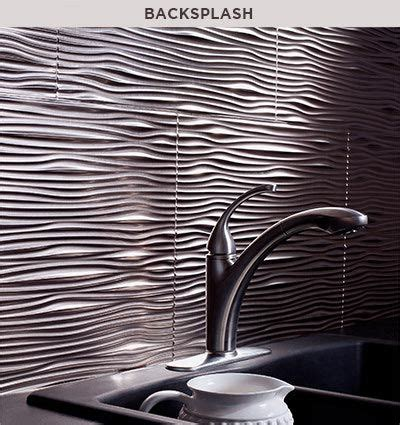 Decorative Thermoplastic Panels by Fasade Backsplashes For The Home