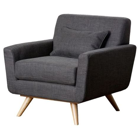 target armchair abbyson living kendall tufted armchair gray target